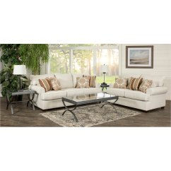 7 Piece Living Room Package Rooms With Accent Chairs Casual Classic Linen Set Alison Rc Willey Furniture Store