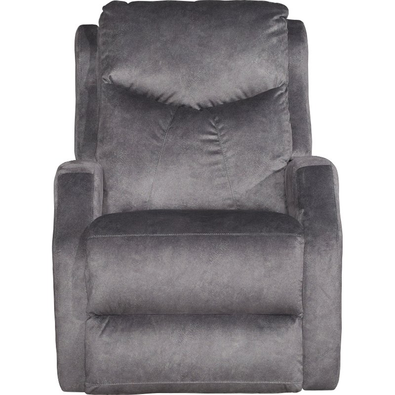 power lift chair lidl christmas covers slate gray reclining tip top rc willey furniture store
