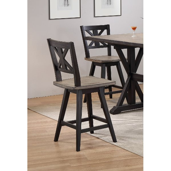 counter height bar chairs dxracer chair toronto rc willey sells stools for your den sand and black swivel stool orlando14999