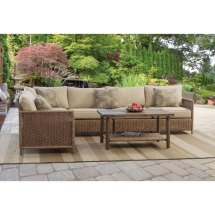 4 Piece Outdoor Patio Sectional - Shadbrook Rc Willey