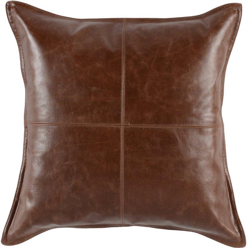 kona brown pieced leather
