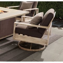 Outdoor Swivel Rocker Chair Denim Banquet Covers Patio With Cushion Frisco Rc Willey Furniture Store