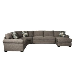 Sofa W Chaise Sabrina Sectional Brown 4 Piece With Raf Orion Rc Willey Furniture Store