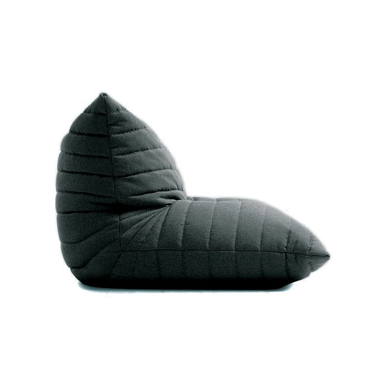 bean bag chairs benchmaster ventura leather chair and storage ottoman casual dark gray lounge noush rc willey furniture