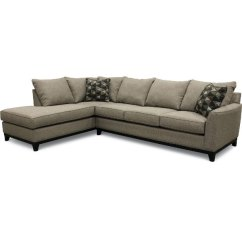 Gray Sofa With Chaise Lounge San Francisco Sectionals Fabric Sectional Sofas Rc Willey Slate 2 Piece Laf Emerson