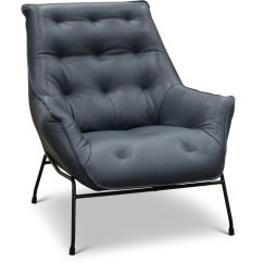 Modern Leather Accent Chairs Plastic Stacking Canada Navy Chair Marseille Rc Willey Furniture Store