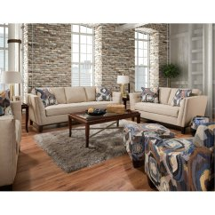 Cheap 2 Piece Living Room Sets Glass Shelves Mid Century Modern Taupe Set Patchquilt Rc Willey Furniture Store
