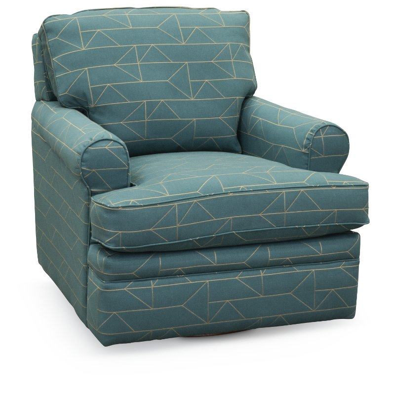 turquoise accent chairs spandex chair covers wholesale canada tamarack swivel glider roxie rc willey 225 462 f150393