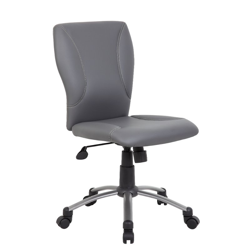 comfortable home office chair chiavari chairs atlanta gray rc willey furniture store