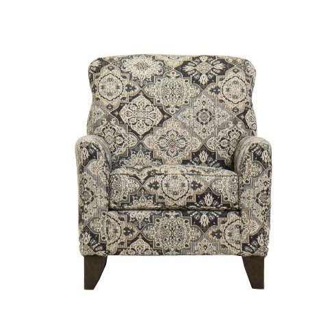 reclining accent chair white leather lounge classic beige and brown belfast rc willey furniture store