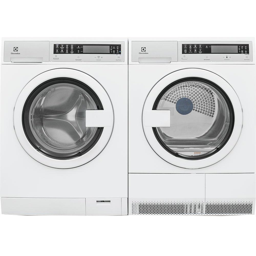 Electrolux Compact Washer And Dryer Set White Electric Rc Willey Furniture Store