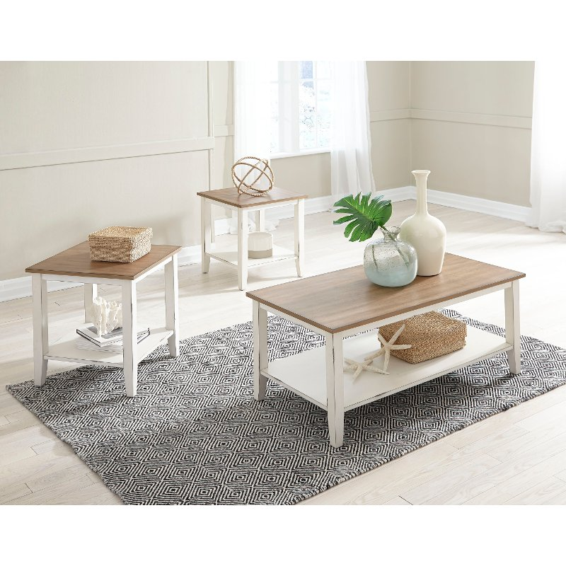 white living room side table common colors classic vintage brown and set atticus rc