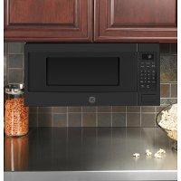 ge profile 1 1 cu ft countertop microwave black slate