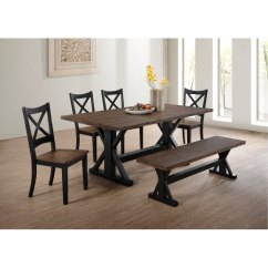 Lexington Dining Chairs Transparent Polycarbonate Brown And Black Farmhouse 6 Piece Set With Bench Rc Willey Furniture Store