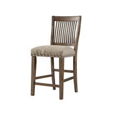 Upholstered Counter Height Chairs Kids Wood Oak 24 Inch Stool Charleston Rc Willey Furniture Store