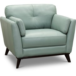 Leather Chair Modern Hans Wegner Rope Seafoam Green Warsaw Rc Willey Furniture Store