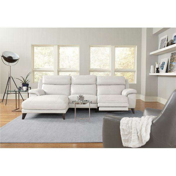 htl sofa range best rv air mattress shop sectional sofas and leather sectionals searching frost white match power reclining with left arm facing chaise venice