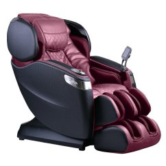 Massage Chair Store Covers Outdoor Black And Burgundy L Track Smart Rc Willey Furniture