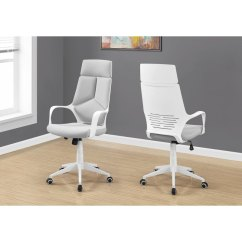 Upholstered Computer Chair Covers At Target Gray And White Rc Willey Furniture Store