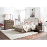 Traditional Oat Beige 4 Piece Queen Bedroom Set Provence Rc Willey Furniture Store