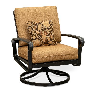 patio furniture in the outdoor store