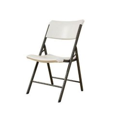 Heavy Duty Folding Chairs Outdoor Cotton Duck Chair Covers Lifetime Products Almond 32 Pack Rc Willey Furniture Store