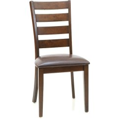 Leather Dining Room Chairs Best Fabric For Chair Seats Buy And Furniture From Rc Willey Kona Raisin