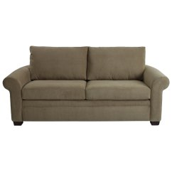 Queen Sleeper Sofa Sectionals Back Cushions Everyday 79 Quot Brownstone Upholstered