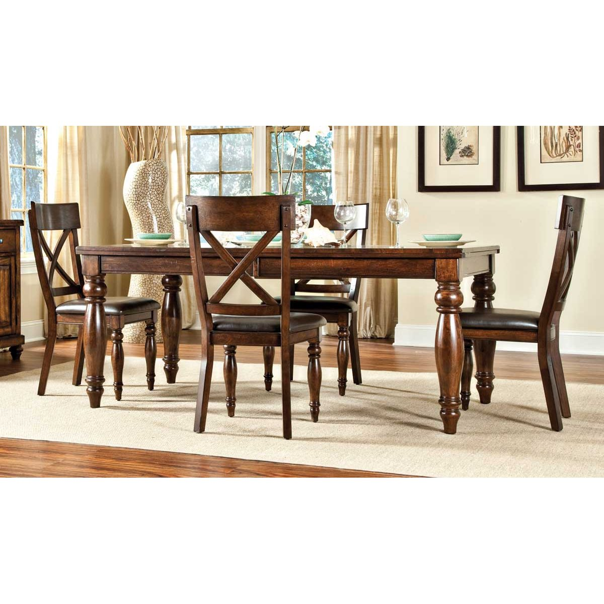 x back chairs saddle chair or stool raisin 5 piece dining set with kingston rc willey furniture store