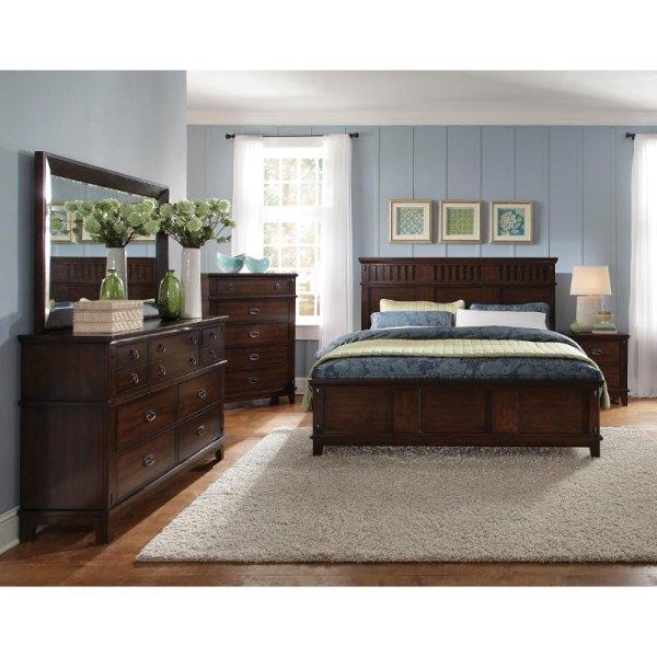 Dark Brown Furniture Bedroom Ideas