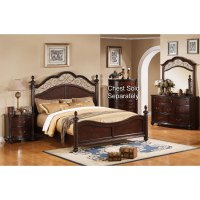 Derbyshire International Furniture 6-Piece Queen Bedroom Set