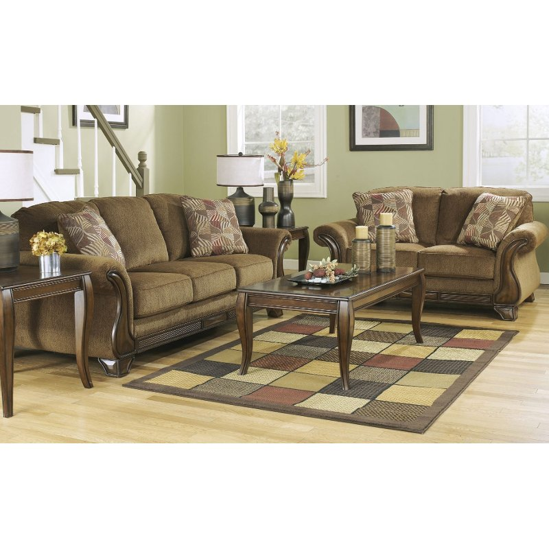 2 piece living room set contemporary modern furniture design mentor traditional mocha brown montgomery rc