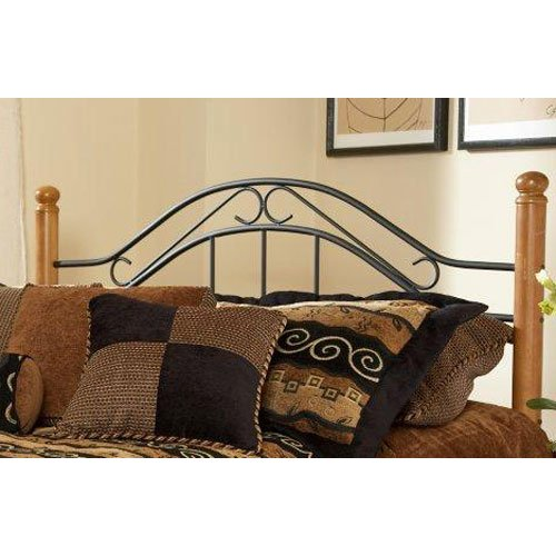 metal oak twin headboard winsloh