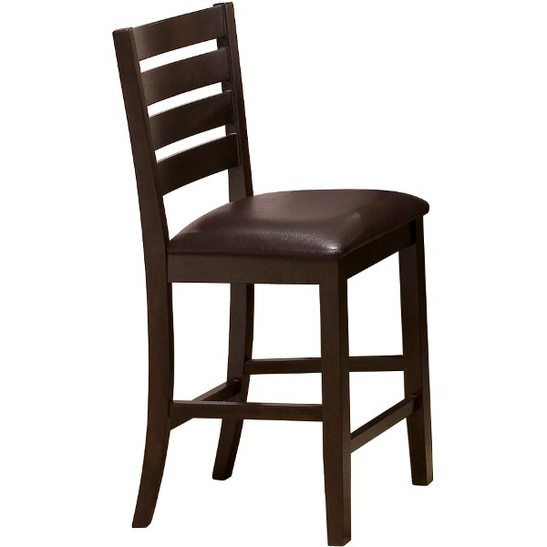 counter height chair wedding cover hire rugby rc willey sells bar stools for your den clearance 24 inch stool elliot