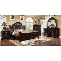 Import Direct 6-Piece Cal-King Bedroom Set