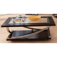 Modern Glass Coffee Table - Melrose | RC Willey Furniture ...