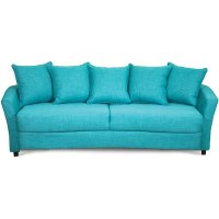 Marana Turquoise Upholstered Casual Sofa Sleeper
