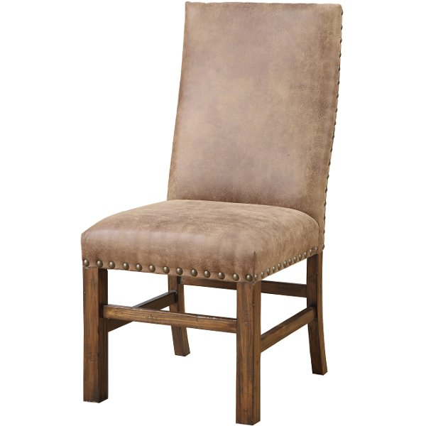 cloth dining room chairs booster high chair buy and furniture from rc willey brown upholstered chambers creek collection