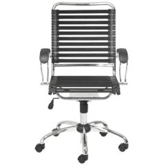 Bungee Office Chairs Kmart Chair Nz Black Cord High Back Bungie Rc Willey Furniture Store