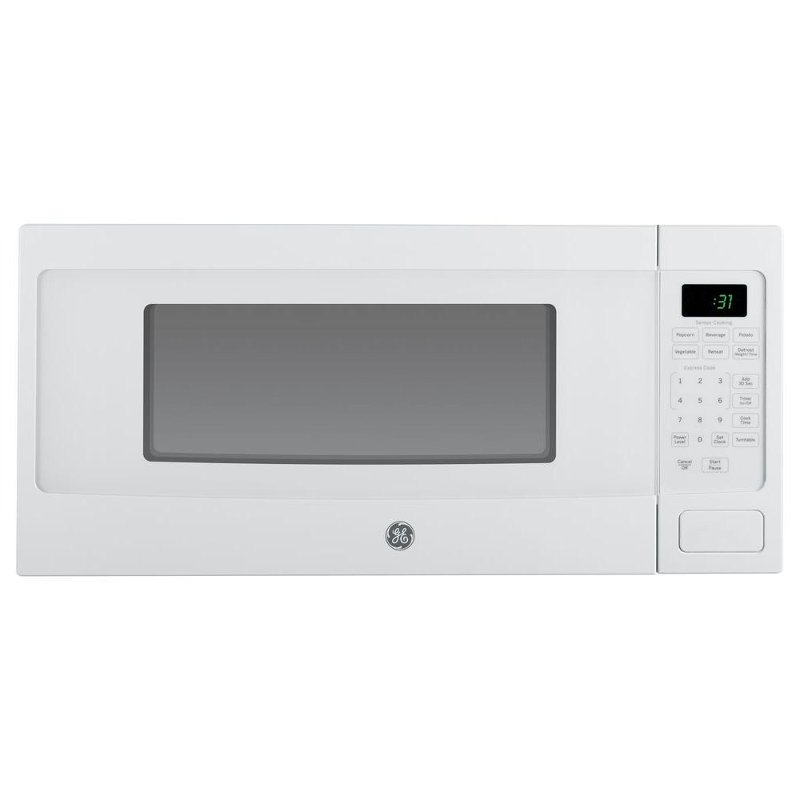 ge profile countertop microwave 1 1 cu ft white rc willey furniture store