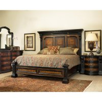 Grand Estates Cinnamon 6-Piece Cal-King Bedroom Set