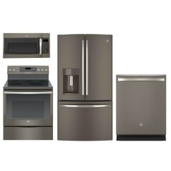 Slate Kitchen Appliance Package Outdoor Kitchens Images Ge 4 Piece With 30 Inch