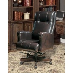 Leather Executive Office Chair Swivel Malaysia Top Grain Rc Willey Furniture Store