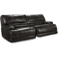 Reclining Sofa Leather Brown Double Shop Couches And Sofas For Sale Rc Willey Furniture Store Charcoal Match Power Stampede