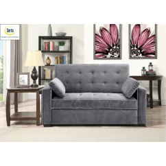 Sofa Convertibles Air Furniture Gray Full Convertible Bed Augustine Rc Willey Store