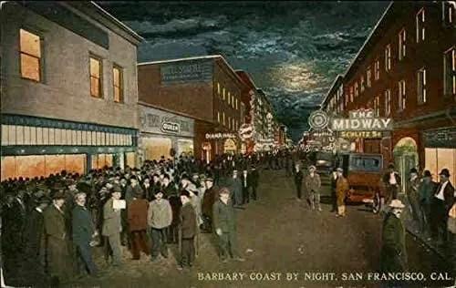 Barbary Coast, San Francisco, 1900.