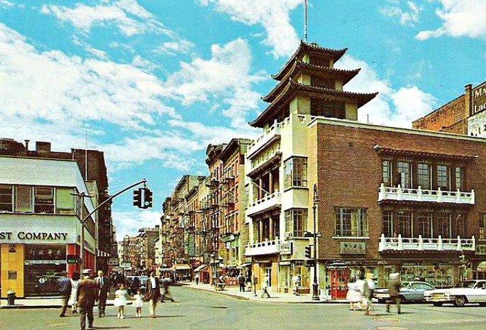 Chinese Merchants Building, New York