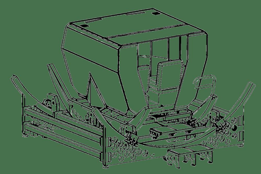 medium resolution of redbird vto helicopter motion system
