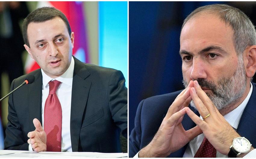 Gürcüstan və Ermənistanın baş naziriləri arasında telefon danışığı olub    Report.az