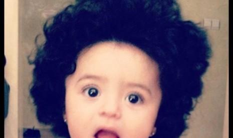 Anak perempuan Sohaila el-Alami